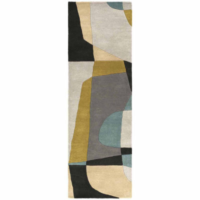 Decor 140 Quetzai Hand Tufted Rectangular Runner