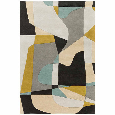 Decor 140 Quetzai Hand Tufted Rectangular Indoor Rugs, One Size , Green