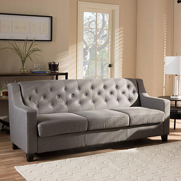 Baxton Studio Arcadia Sofa