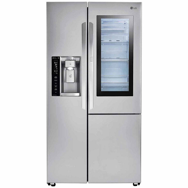LG ENERGY STAR® 21.7 cu.ft. Smart Wi-Fi Enabled Counter-Depth InstaView™ Door-in-Door® Side-By-Side Refrigerator