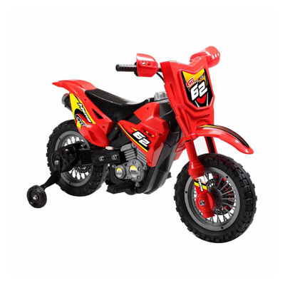 Battery Operated Dirt Bike Ride-On Motorcycle