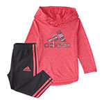 adidas Baby Girls 2-pc. Legging Set