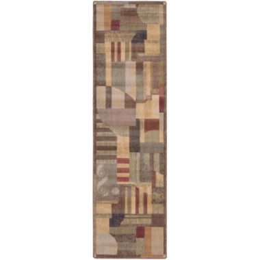Nourison® Mix It Carved Runner Rug