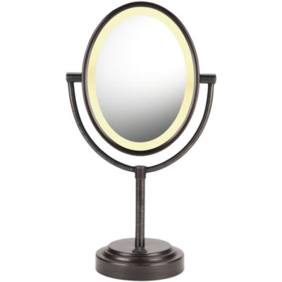Conair® Oval Oiled Bronze Mirror