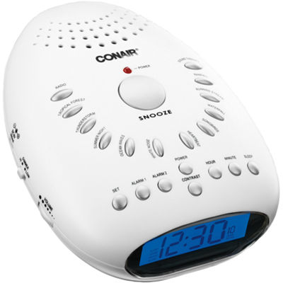 Conair® Soothing Sounds And Relaxation Clock Radio