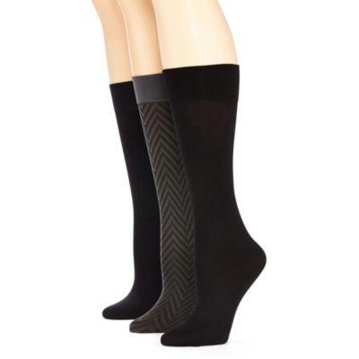 Mixit 3pk Zigzag Trouser Socks