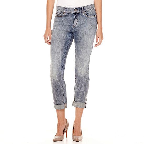 8b9f22cbf80b5e Liz Claiborne® City-Fit Boyfriend Skinny Jeans - Tall - JCPenney