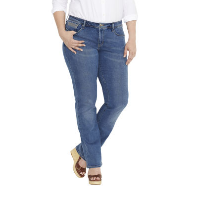 Levi's® 512™ Perfectly Shaping Straight-Leg Jeans - Plus