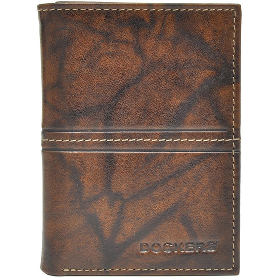 Dockers® Leather Tri-Fold Wallet