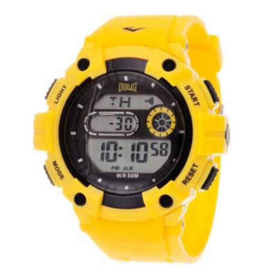 Everlast Unisex Yellow Strap Watch-Evwf016ye