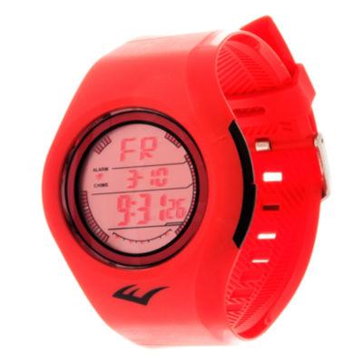 Everlast Unisex Red Strap Watch-Evwf015re