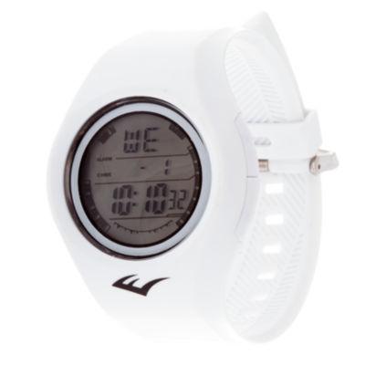 Everlast Unisex White Strap Watch-Evwf015wt