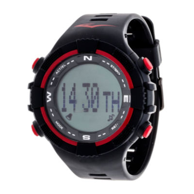 Everlast Unisex Black Strap Watch-Evwpd002re-Bk