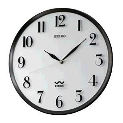 Seiko® Radio Wave Wall Clock Qxr131slh