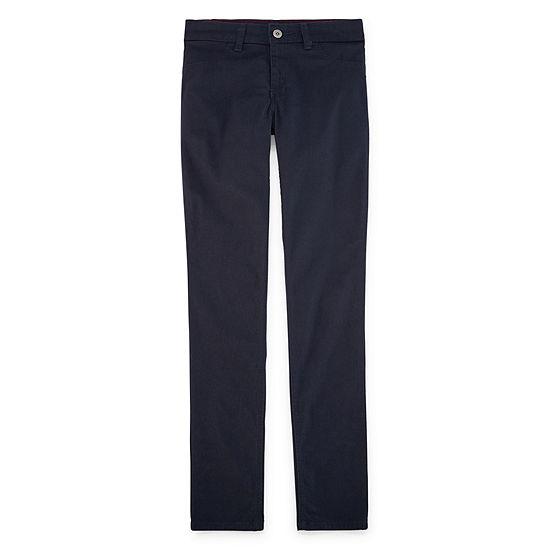 e80f0812830 Dickies Girls Super Skinny Fit Skinny Leg Stretch Twill Pants (7-16) -  JCPenney
