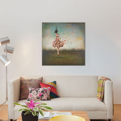 Boundlessness In Bloom by Duy Huynh Canvas Wall Art