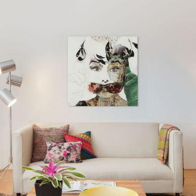 Audrey by Ines Kouidis Canvas Wall Art