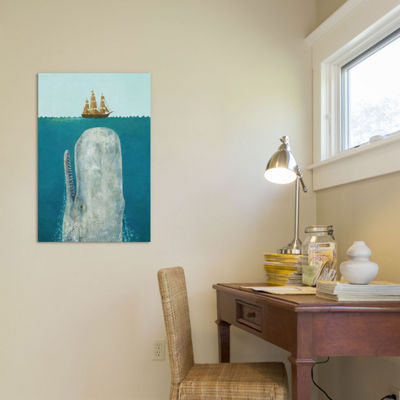 The Whale by Terry Fan Canvas Wall Art