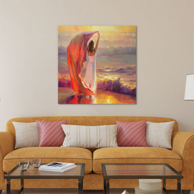 Ocean Breeze by Steve Henderson Canvas Wall Art