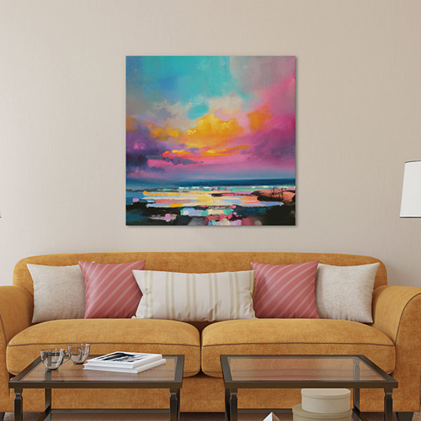 "iCanvas® Diminuendo Sky Study II by Scott Naismith 26x26"" Canvas Print"