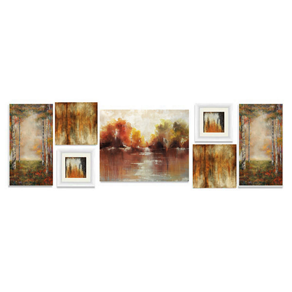 7 Piece Wall Decor Set