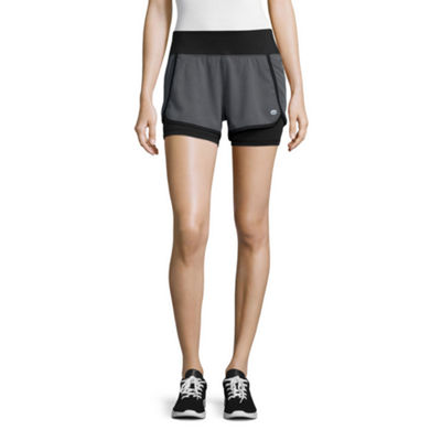 Tapout® Warrior Woven Knit Mix Graphic Shorts