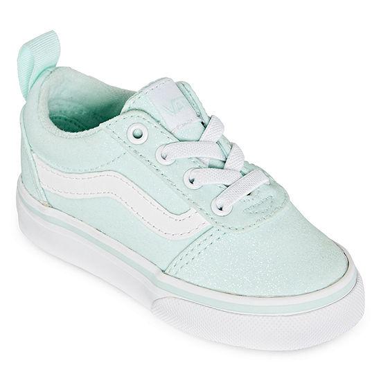 Vans Ward Slip On Toddler Girls Skate Shoes Slip On