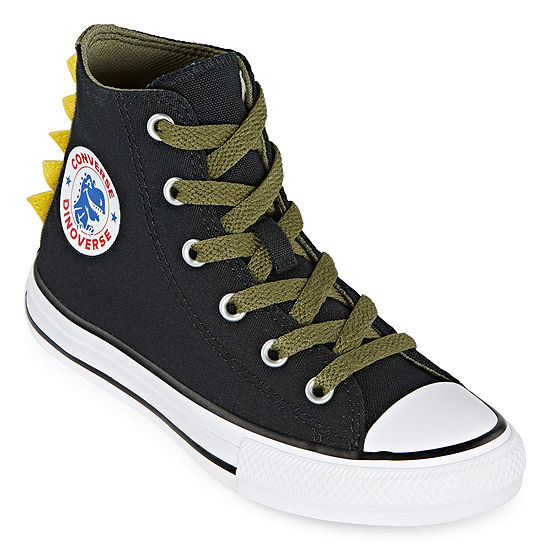 Converse High Top Dino Spikes Little Kid/Big Kid Boys Sneakers Lace-up