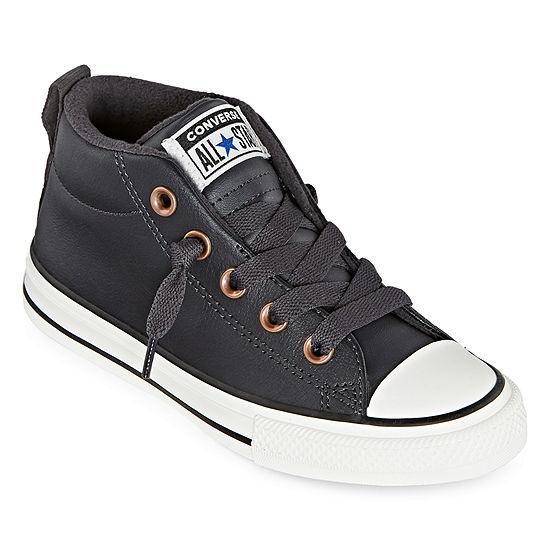 Converse Street Mid Leather Little Kid/Big Kid Boys Sneakers Slip-on