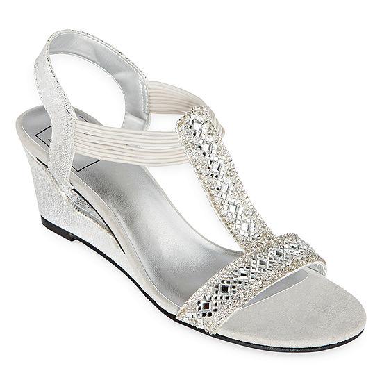 New York Transit Womens Funtastic Wedge Sandals