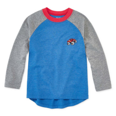 Okie Dokie Toddler Boys Long Sleeve T-Shirt