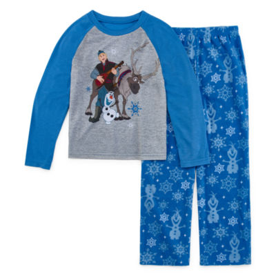 Disney Frozen Family Boys 2 Piece Pajama Set - Preschool/Big Kid
