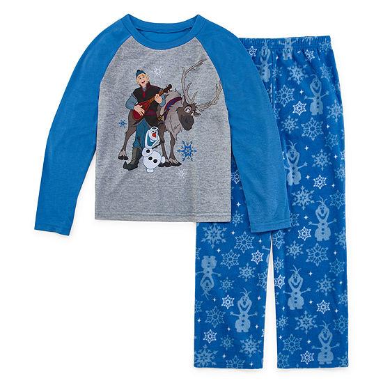 Disney Frozen Family Boys 2 Piece Pajama Set - Preschool/Big Kid