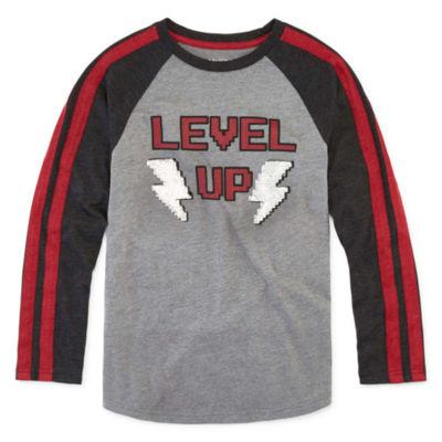 Arizona Boys Crew Neck Long Sleeve T-Shirt Preschool / Big Kid