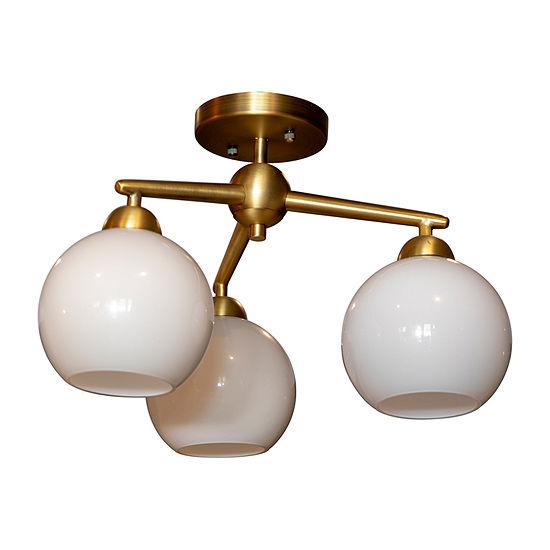 Decor Therapy Flush Mount Lighting