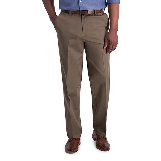 Haggar ® Iron Free Premium Khaki Classic Fit Flat Front Pants
