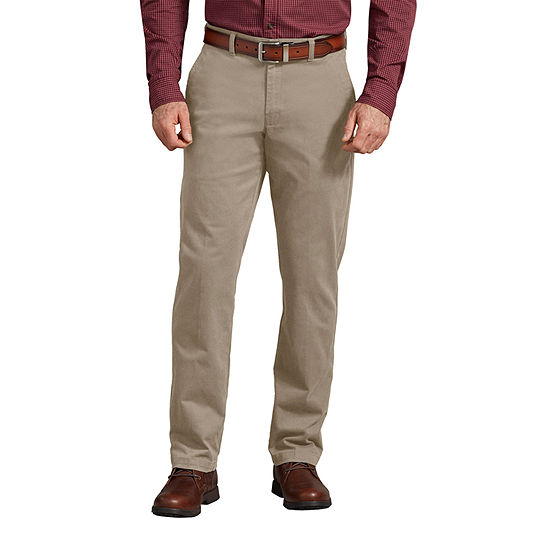 Dickies® FLEX Slim Fit Chino Flat Front Pants