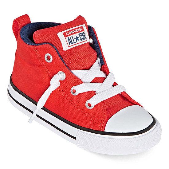 Converse Street Mid Toddler Boys Sneakers Slip-on