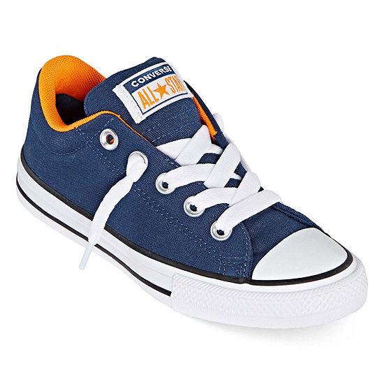 Converse Street Ox Canvas Little Kid/Big Kid Boys Sneakers Slip-on