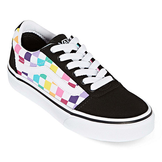Vans Vans Ward Big Kids Girls Skate Shoes