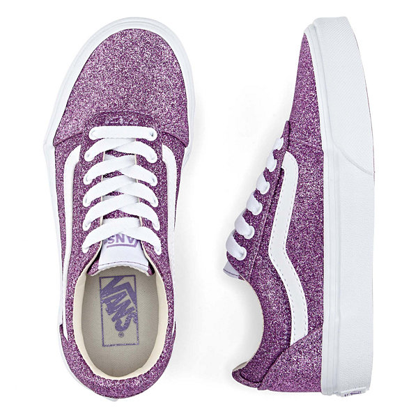 Vans Ward Girls Skate Shoes Lace-up