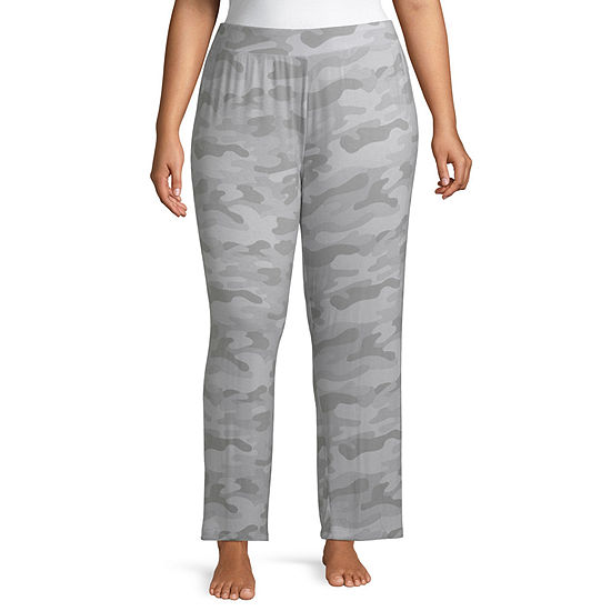 Ambrielle Knit Pajama Pants Womens-Plus