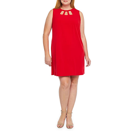 Alyx-Plus Sleeveless Shift Dress
