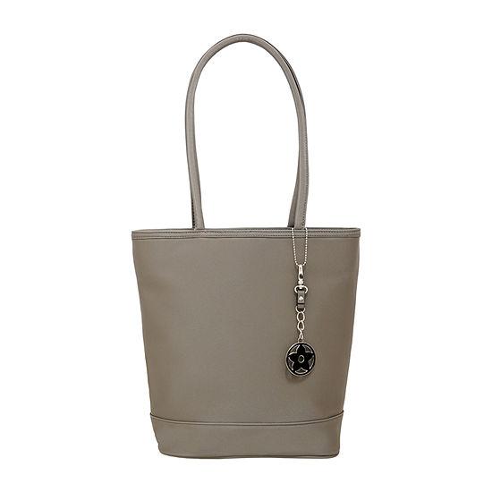 St. John's Bay Twill Pvc Tote Bag