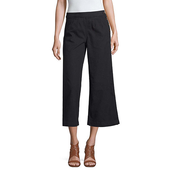 a.n.a High Waisted Cropped Pants