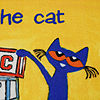 Home Dynamix Pete The Cat  Elementary Block Letters Rectangular Indoor Rugs