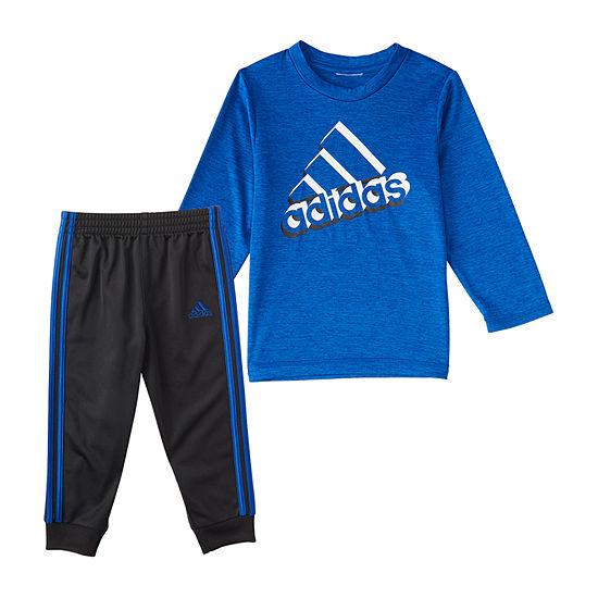 adidas Baby Boys 2-pc. Pant Set