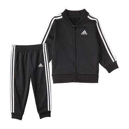 adidas Toddler Boys 2-pc. Pant Set, 3t , Black