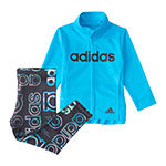 adidas Little Girls 2-pc. Legging Set