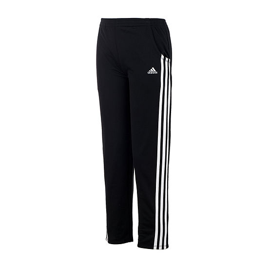 adidas Little Girls Mid Rise Slim Track Pant